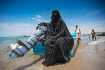 Yemen's Zoro is a woman!